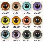 Image of Article VN 10mm 10 Pair Premium Plastic Sew-On Eyes Mixed Colours