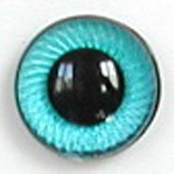 Image of Article UG02 12mm 1 Pair Premium Plastic Eyes with Spiral Iris