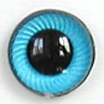 Image of Article UG03 10mm 1 Pair Premium Sew-On Eyes Plastic with Spiral Iris