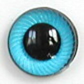Image of Article UG05 12mm 1 Pair Premium Plastic Eyes with Spiral Iris