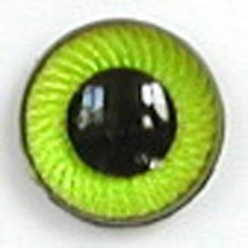 Image of Article UG06 12mm 1 Pair Premium Plastic Eyes with Spiral Iris