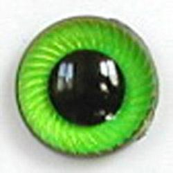 Image of Article UG07 10mm 1 Pair Premium Sew-On Eyes Plastic with Spiral Iris