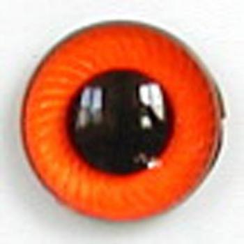 Image of Article UG10 10mm 1 Pair Premium Plastic Eyes with Spiral Iris