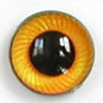 Image of Article UG12 10mm 1 Pair Premium Plastic Eyes with Spiral Iris