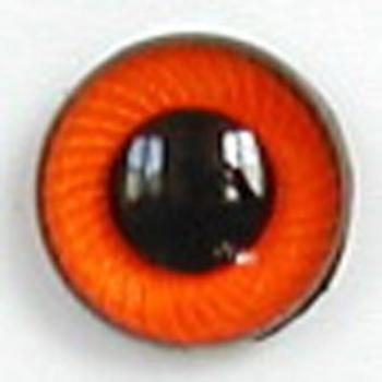 Image of Article UG13 12mm 1 Pair Premium Plastic Eyes with Spiral Iris
