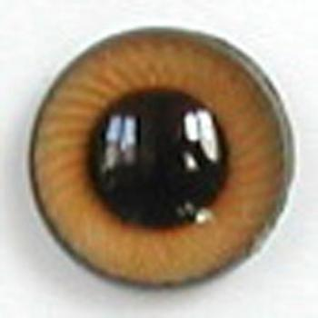 Image of Article UG14 12mm 1 Pair Premium Plastic Eyes with Spiral Iris