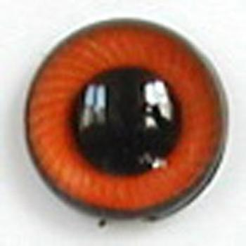 Image of Article UG15 12mm 1 Pair Premium Plastic Eyes with Spiral Iris