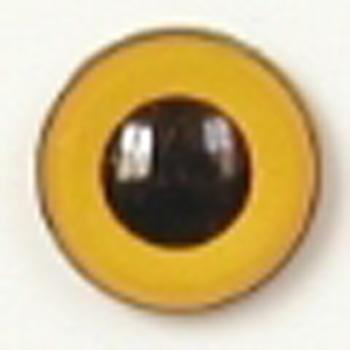 Image of Article U103 8mm 1 Pair Premium Sew-On Eyes Plastic with Round Pupil