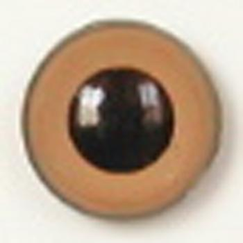 Image of Article U107 8mm 1 Pair Premium Sew-On Eyes Plastic with Round Pupil