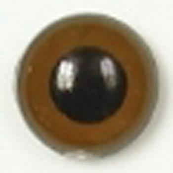 Image of Article U111 12mm 1 Pair Premium Sew-On Eyes Plastic with Round Pupil