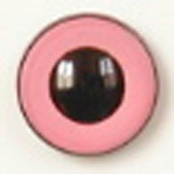 Image of Article U113 6mm 1 Pair Premium Sew-On Eyes Plastic with Round Pupil