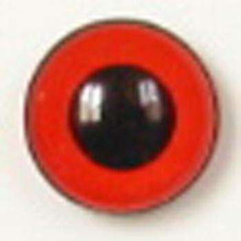 Image of Article U115 8mm 1 Pair Premium Sew-On Eyes Plastic with Round Pupil