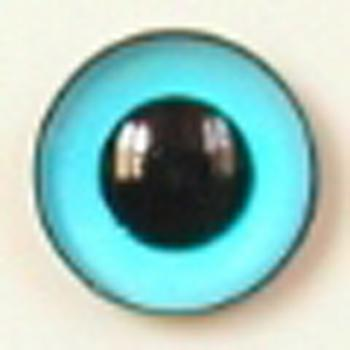 Image of Article U128 6mm 1 Pair Premium Sew-On Eyes Plastic with Round Pupil