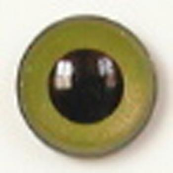 Image of Article U132 8mm 1 Pair Premium Sew-On Eyes Plastic with Round Pupil