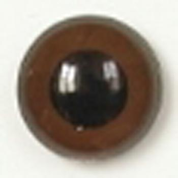 Image of Article U144 10mm 1 Pair Premium Plastic Eyes with Round Pupil