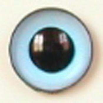 Image of Article U148 8mm 1 Pair Premium Sew-On Eyes Plastic with Round Pupil