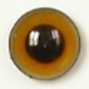 Image of Article U151 14mm 1 Pair Premium Sew-On Eyes Plastic with Round Pupil