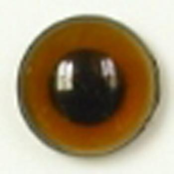 Image of Article U153 14mm 1 Pair Premium Sew-On Eyes Plastic with Round Pupil