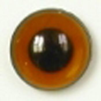 Image of Article U163 8mm 1 Pair Premium Sew-On Eyes Plastic with Round Pupil