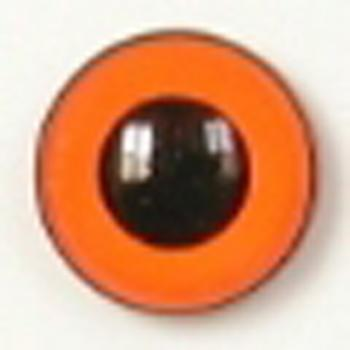 Image of Article U172 8mm 1 Pair Premium Sew-On Eyes Plastic with Round Pupil