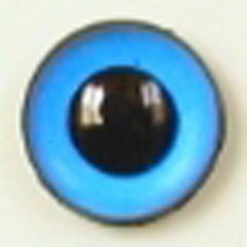Image of Article U174 8mm 1 Pair Premium Sew-On Eyes Plastic with Round Pupil