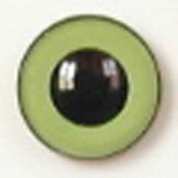 Image of Article U175 20mm 1 Pair Premium Plastic Safety Eyes with Round Pupil
