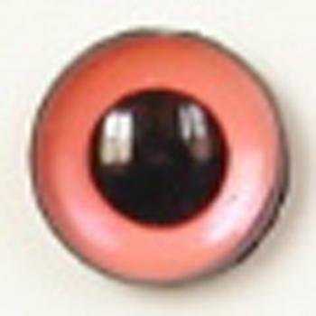 Image of Article U177 8mm 1 Pair Premium Sew-On Eyes Plastic with Round Pupil