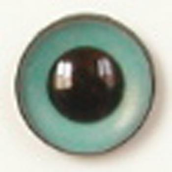 Image of Article U181 8mm 1 Pair Premium Sew-On Eyes Plastic with Round Pupil