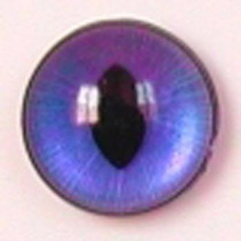 Image of Article WN767 24mm 1 Pair Premium Sew-On Eyes Plastic with Oval Pupil
