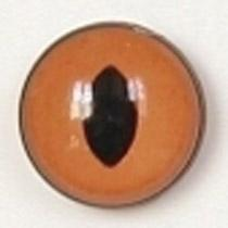 Image of Article Z208 10mm 1 Pair Premium Sew-On Eyes Plastic with Oval Pupil