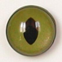 Image of Article Z212 10mm 1 Pair Premium Sew-On Eyes Plastic with Oval Pupil