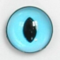 Image of Article Z214 10mm 1 Pair Premium Sew-On Eyes Plastic with Oval Pupil