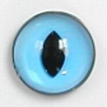 Image of Article Z231 10mm 1 Pair Premium Sew-On Eyes Plastic with Oval Pupil