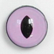 Image of Article Z249 10mm 1 Pair Premium Sew-On Eyes Plastic with Oval Pupil