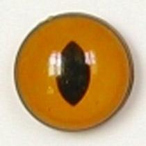 Image of Article Z255 10mm 1 Pair Premium Sew-On Eyes Plastic with Oval Pupil