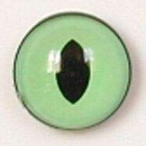 Image of Article Z262 10mm 1 Pair Premium Sew-On Eyes Plastic with Oval Pupil