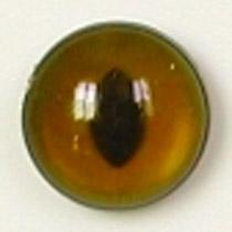 Image of Article Z264 10mm 1 Pair Premium Sew-On Eyes Plastic with Oval Pupil